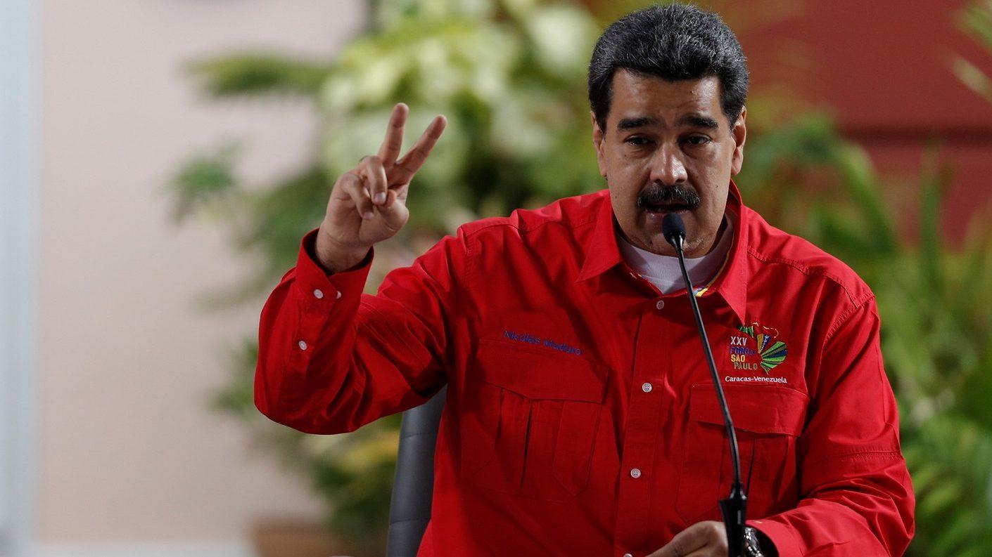 Maduro llama a una jornada mundial de protestas contra Trump