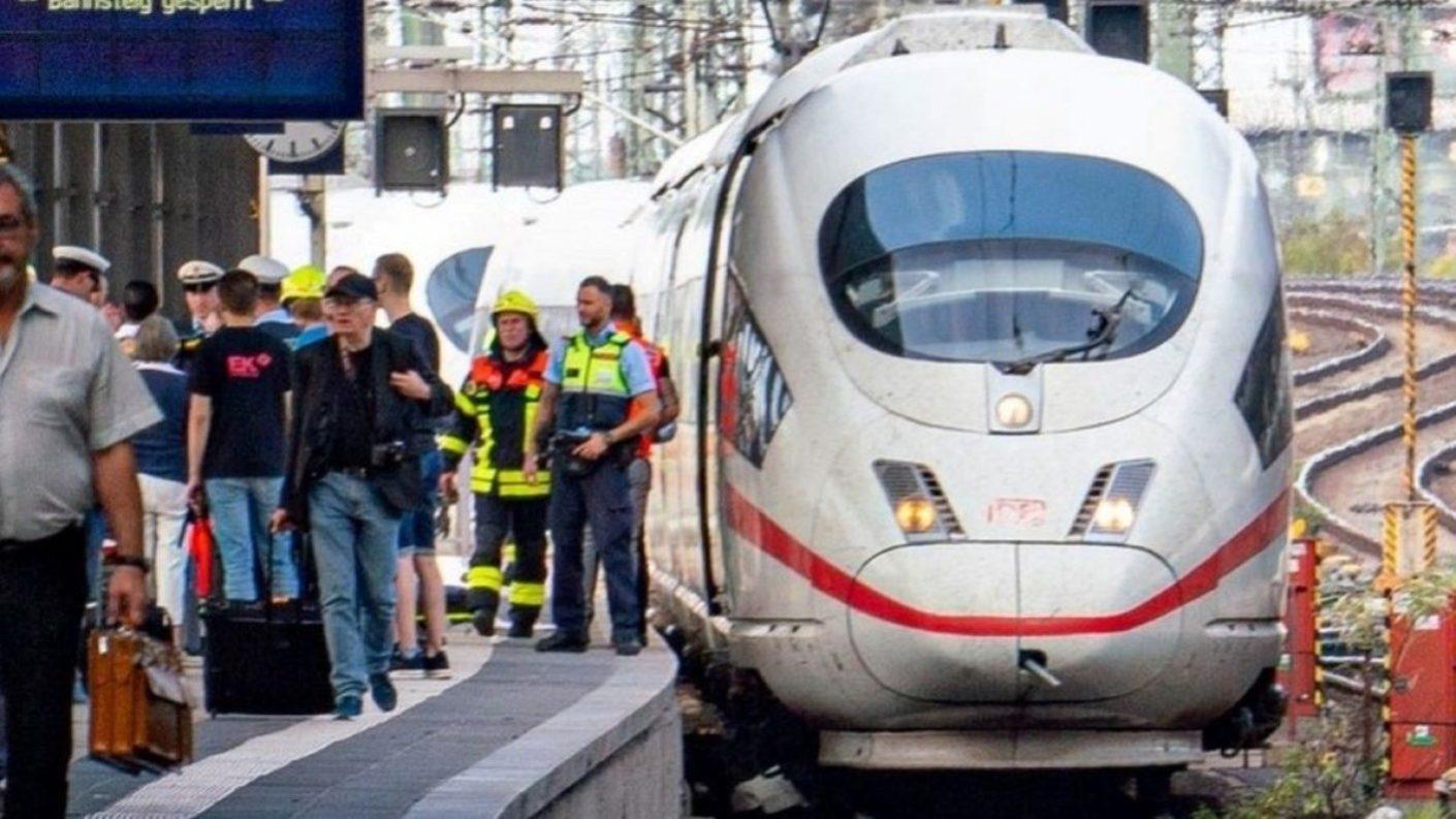 Niño murió al ser lanzado a las vías de un tren de alta velocidad en Alemania