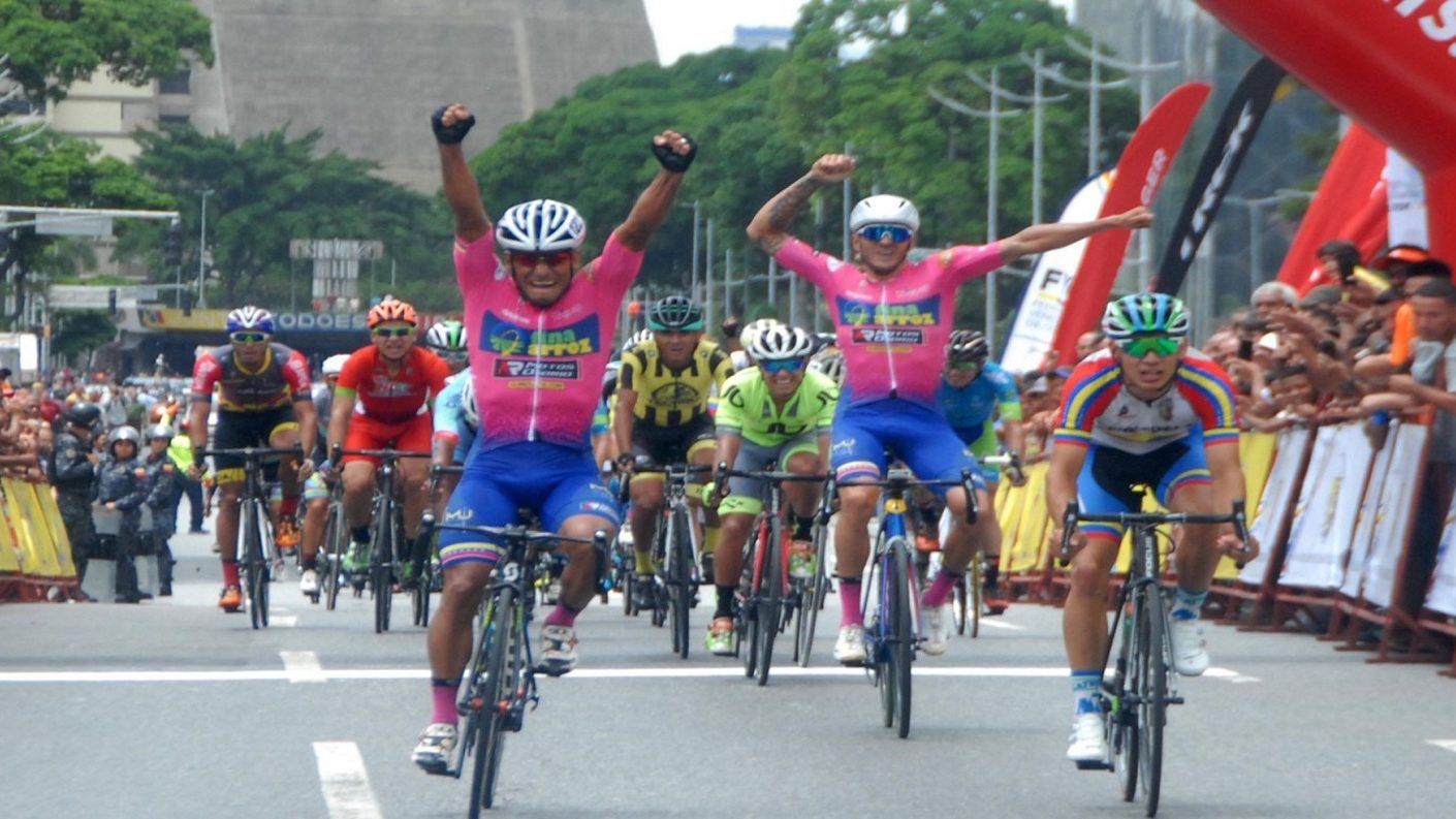 Xavier Quevedo reinó en la 1era  etapa de la Vuelta a Venezuela