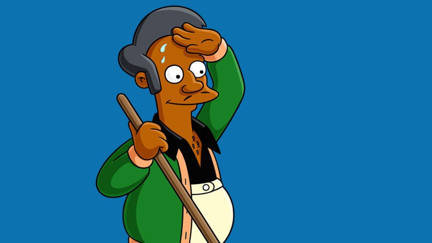 Apu se queda en Springfield