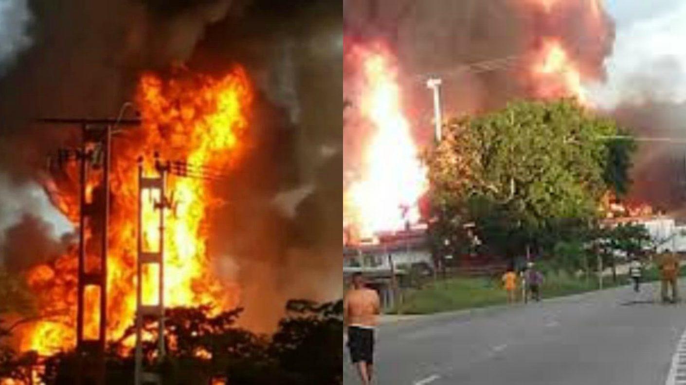 Planta de llenado de Pdvsa Gas explotó en Ocumare del Tuy