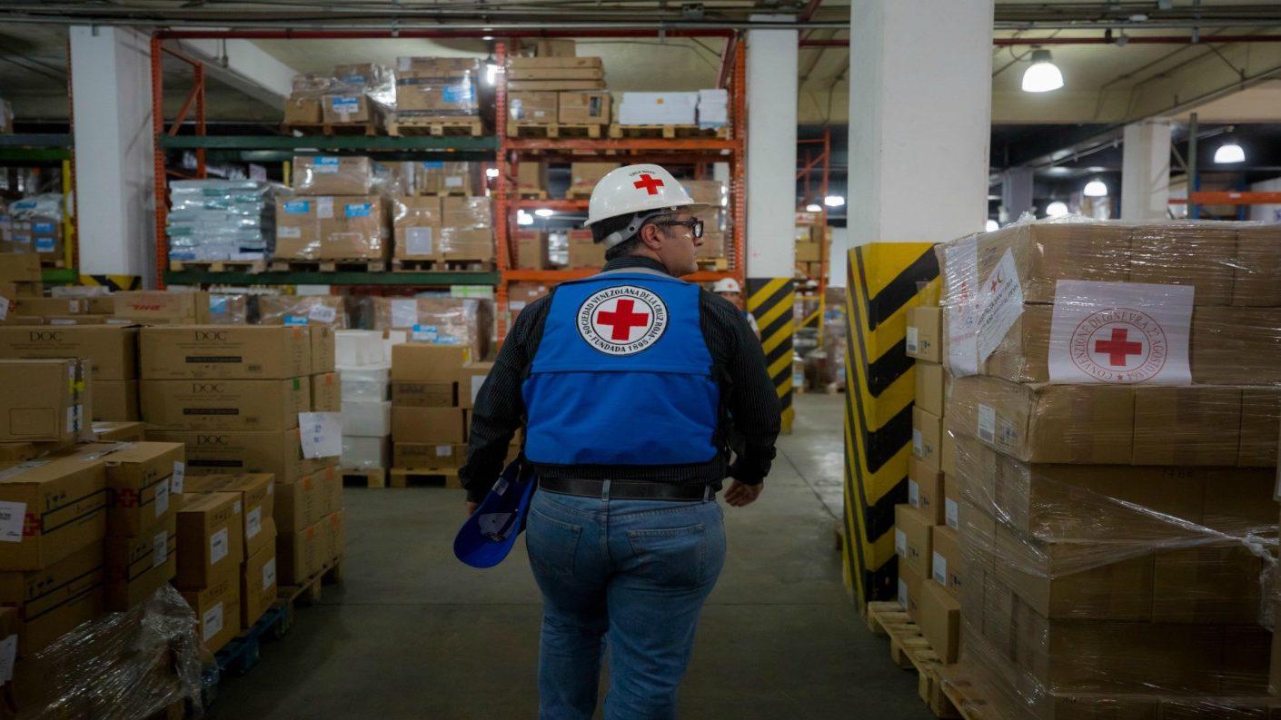 Llegaron 11 toneladas de ayuda humanitaria al país