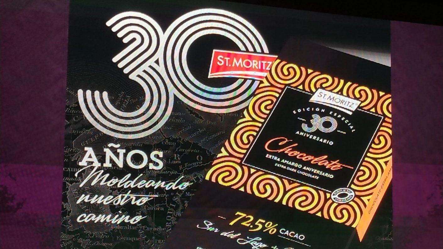 St. Moritz celebra su 30 aniversario con un chocolate 100% venezolano