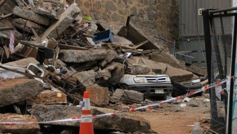 Dos venezolanos entre las 6 víctimas fatales del derrumbe en Valparaíso