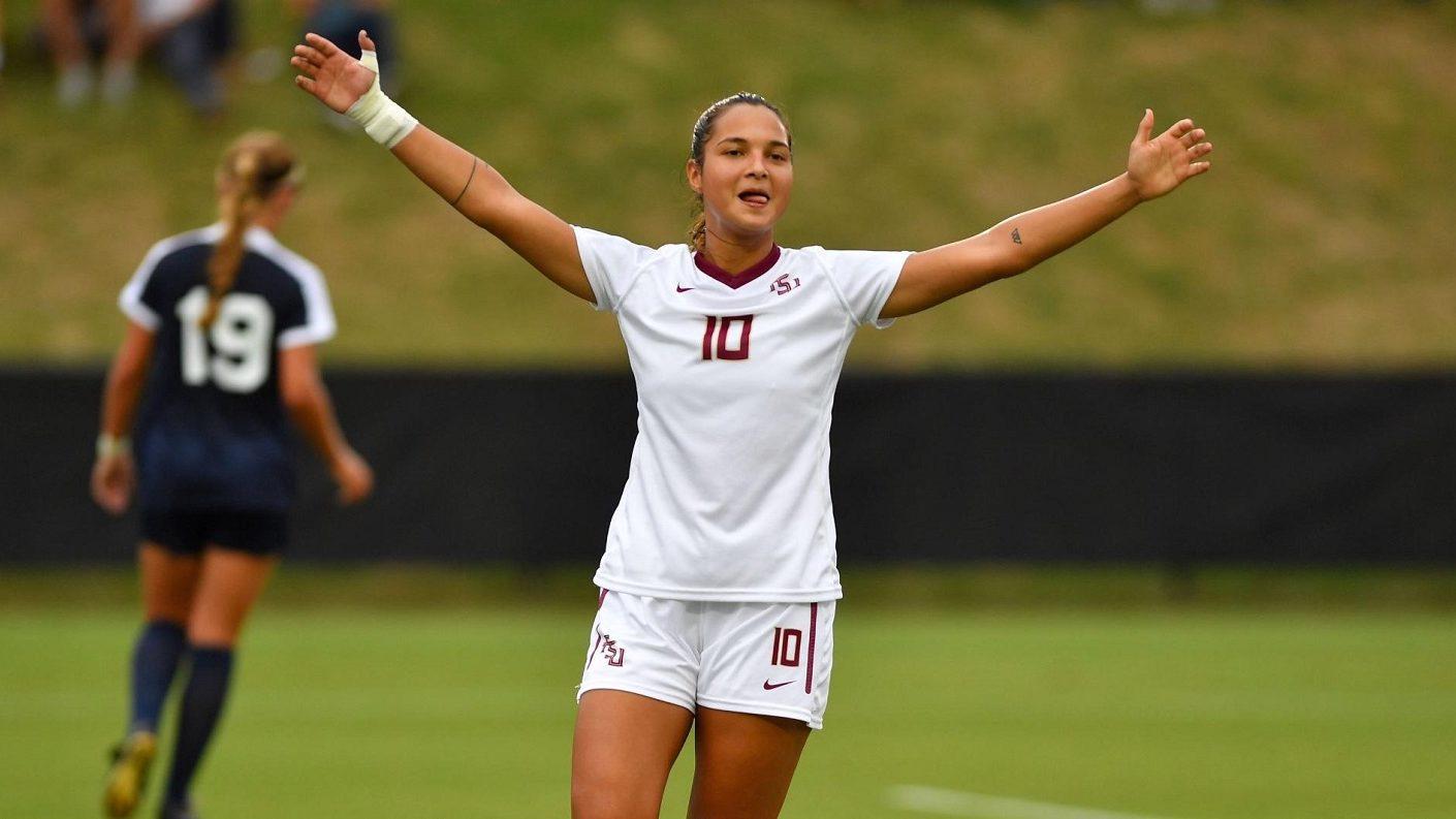 Deyna Castellanos marcó el primero de la temporada