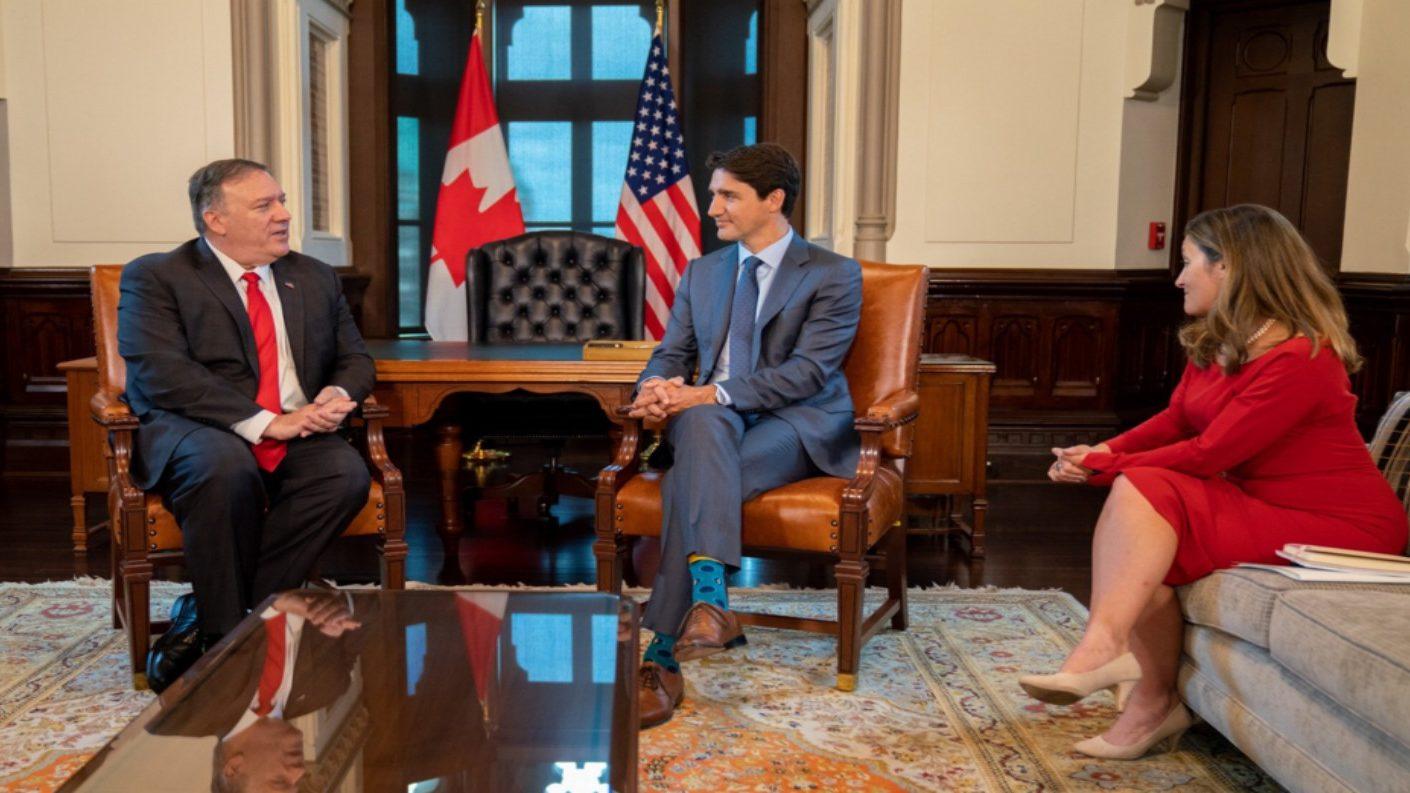 Pompeo exaltó el trabajo de Canadá por buscar una transición pacífica en Venezuela