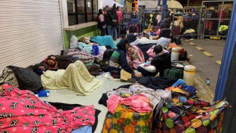 Unos 4.500 venezolanos ingresaron a Ecuador justo antes del plazo para exigir visa