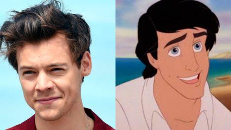 Harry Styles dará vida al príncipe Erick en la Sirenita