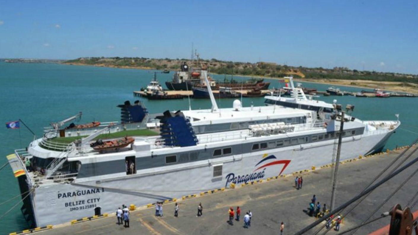 Ferry Paraguaná I inicia operaciones con ruta La Guaira-Nueva Esparta