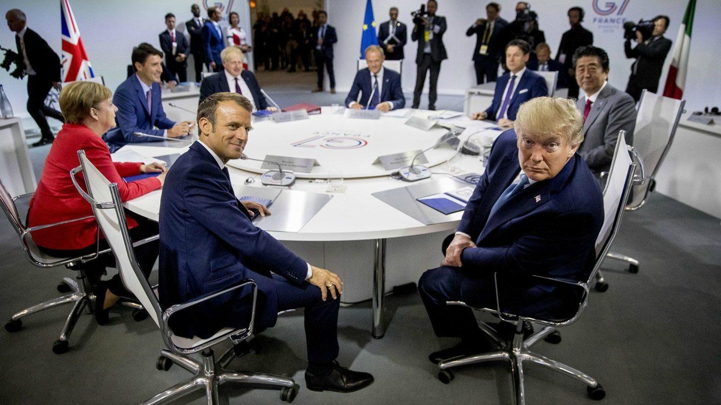 G7 logra acuerdo rápido para ayudar tras devastadores incendios
