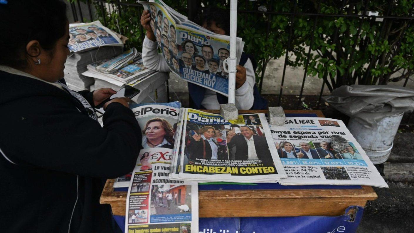 Guatemala inicia votación en segunda vuelta