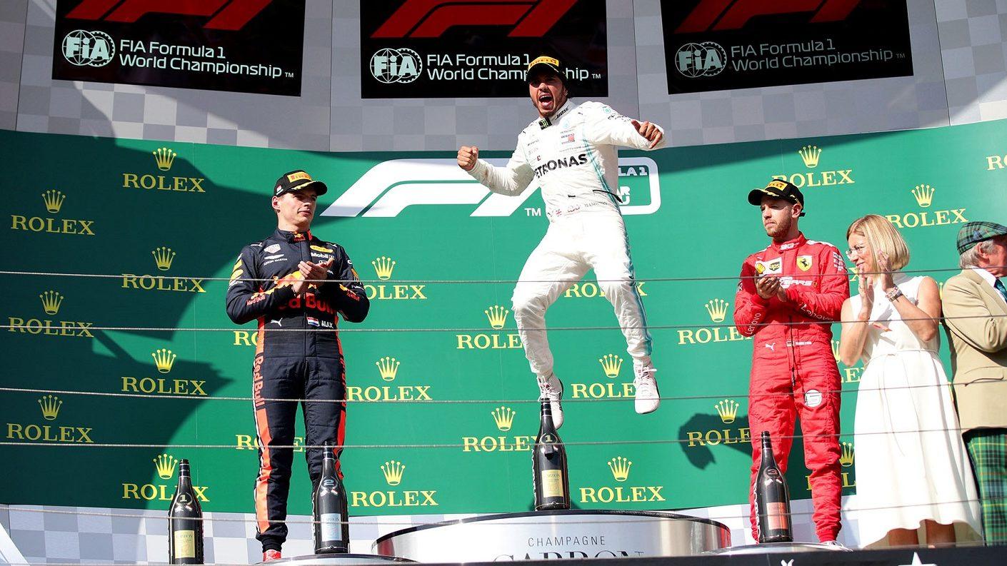 Hamilton mandó en Hungría con una magnífica estrategia