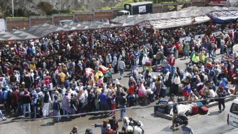 Ola migratoria genera crisis en frontera colombo-ecuatoriana