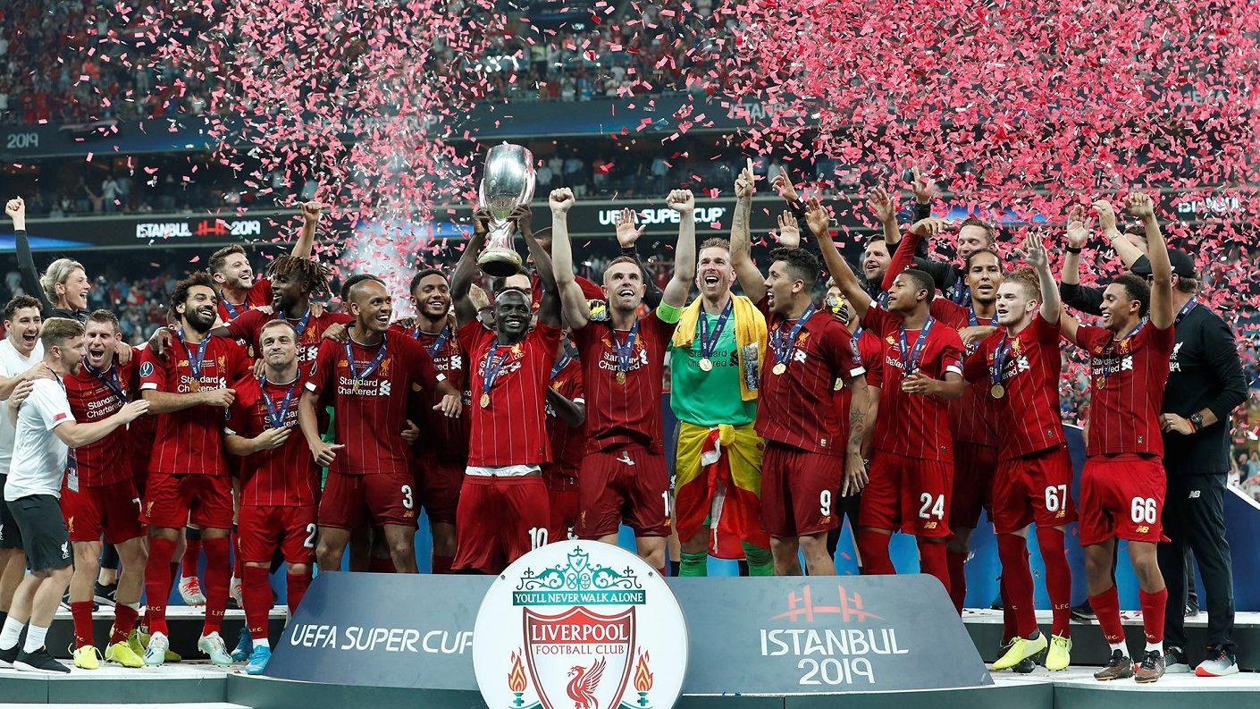 El Liverpool se llevó la Supercopa de Europa