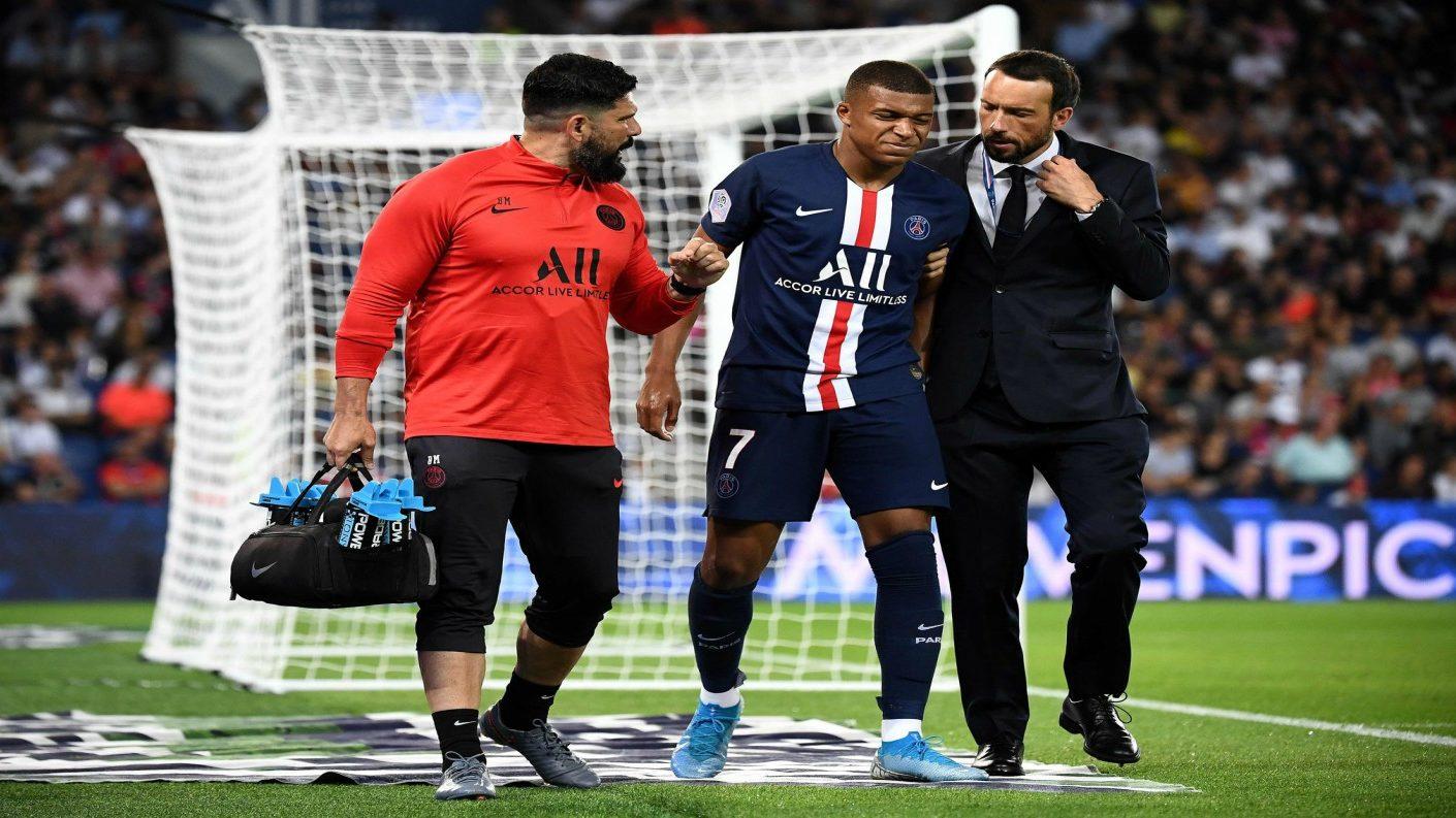 Se confirma la lesión de Mbappé