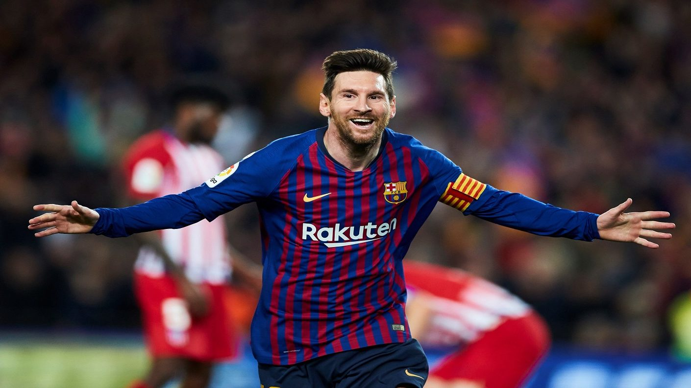 Messi autor del mejor gol de Europa