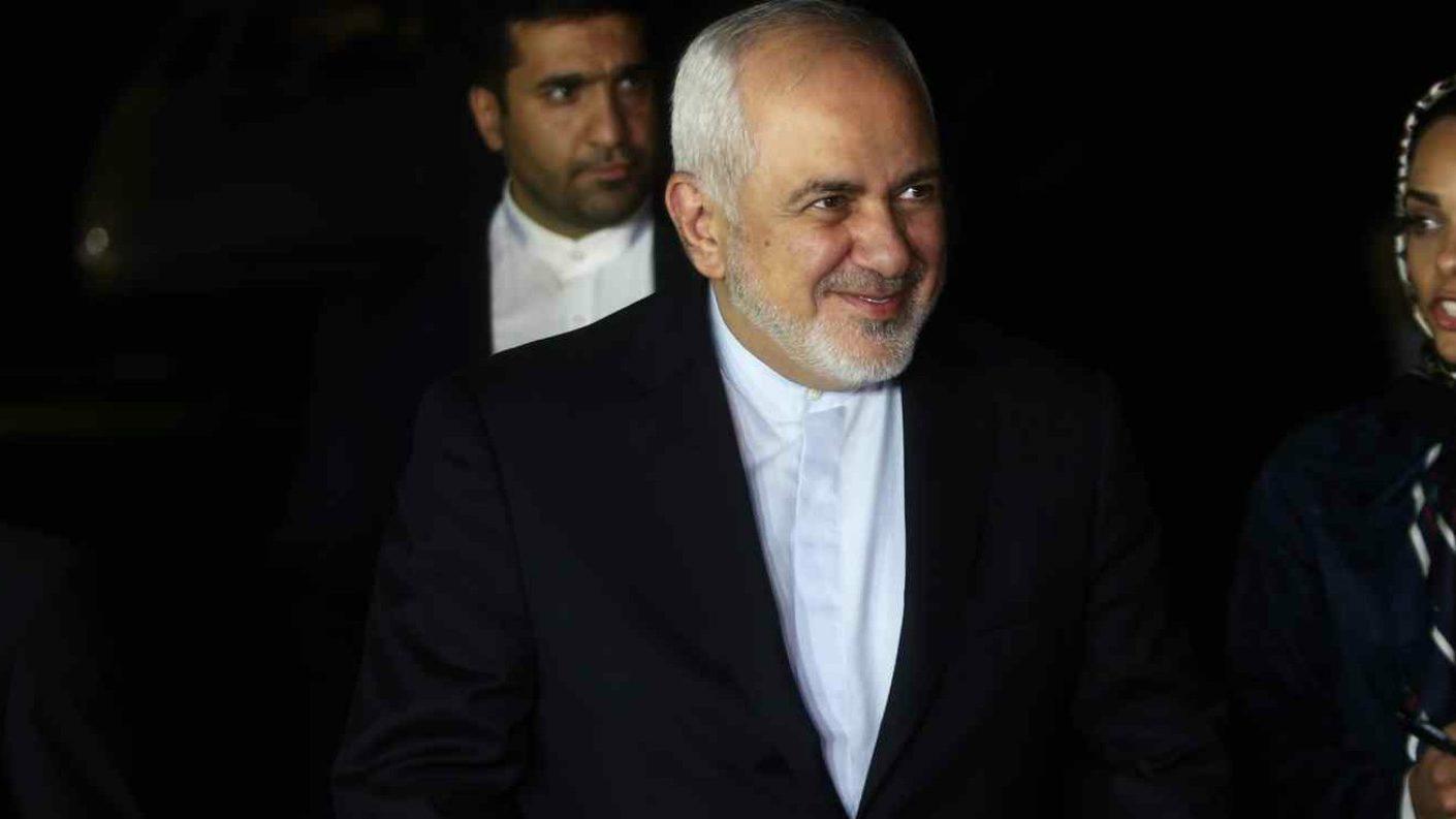 Ministro de Exteriores de Irán llega por sorpresa a la cumbre del G7
