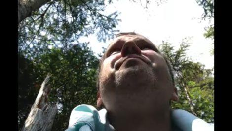 Hombre documenta su rescate tras estrellarse en desierto de Quebec