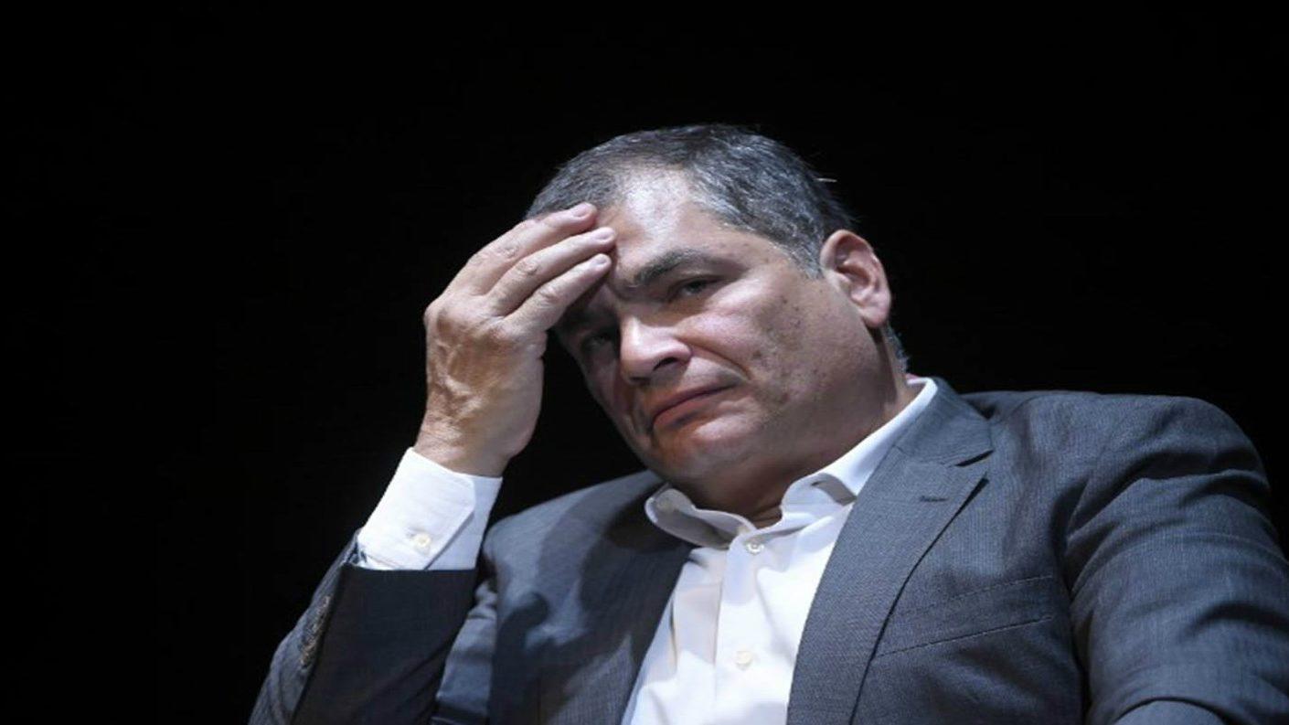 Ecuador libra orden de prisión contra ex presidente Rafael Correa