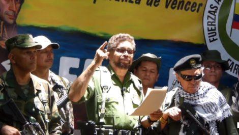 FARC vuelve a levantar armas