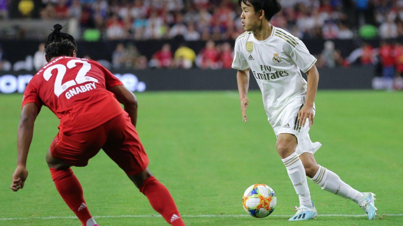 Takefusa Kubo jugará en el Mallorca