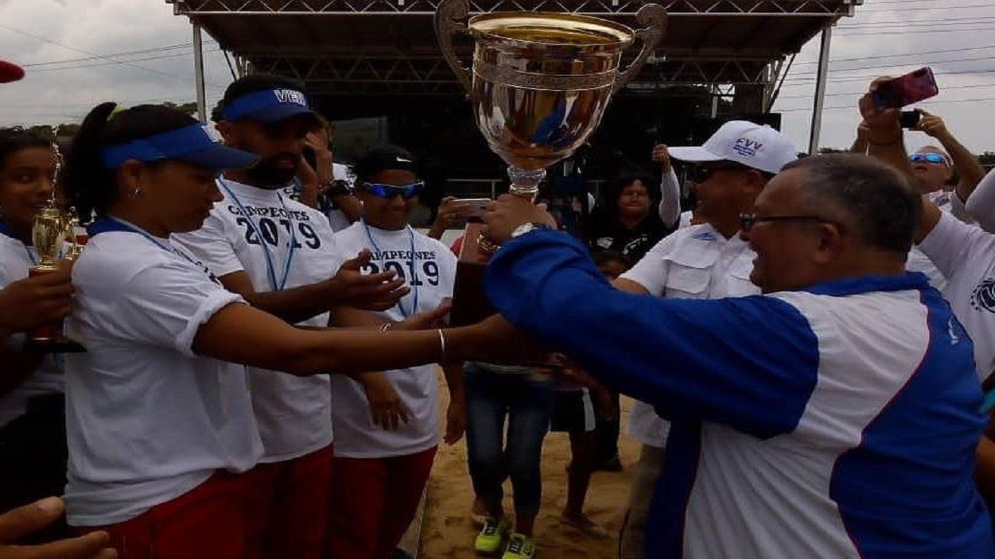 DANZ se adueñó de la arena de Apure y es campeón de la LVVP