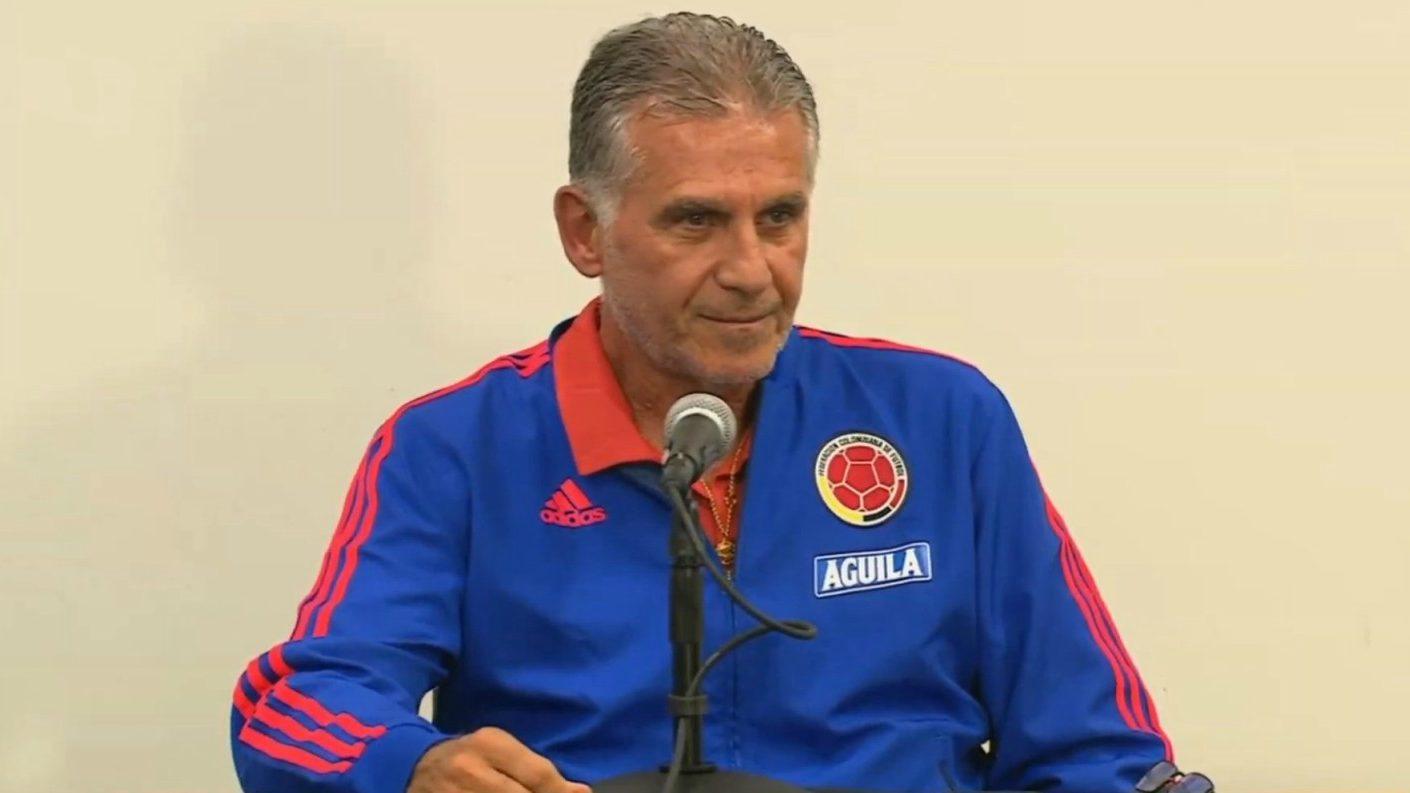 Queiroz: Venezuela se juega la vida ante Colombia