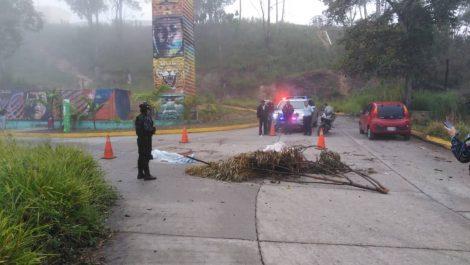 Dos ladrones muertos por estallido de granada en Carretera Panamericana