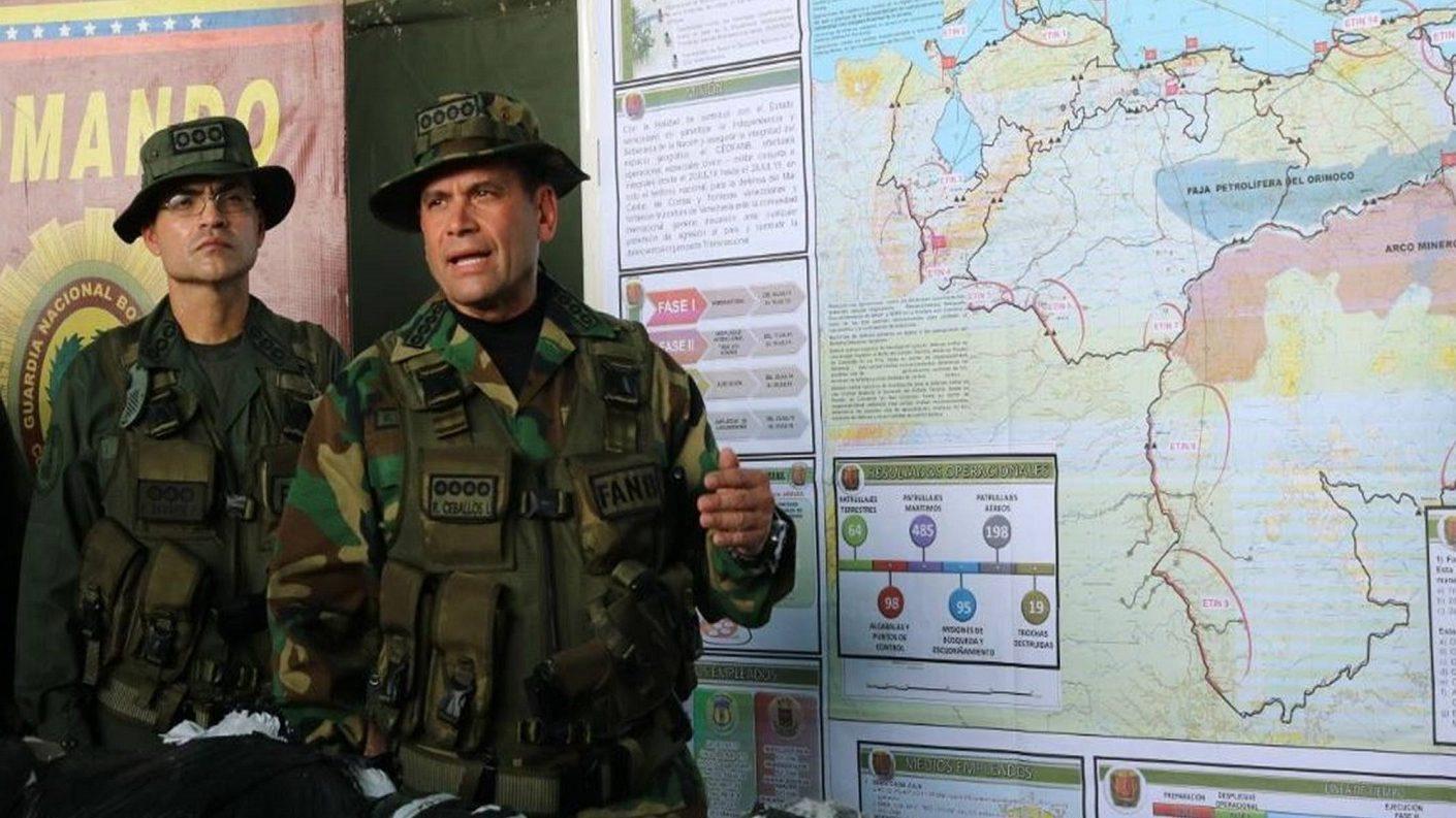 Ceballos acusa a Colombia de querer destruir el sistema de armas a través del soborno