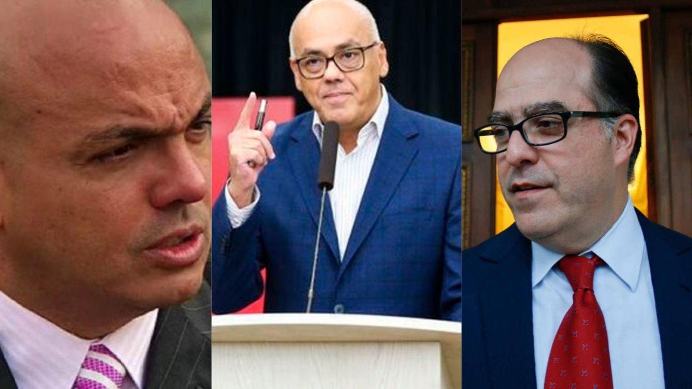 Julio Borges y Clíver Alcalá responden a Jorge Rodríguez