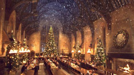 Fans de Harry Potter podrán cenar en Hogwarts esta Navidad