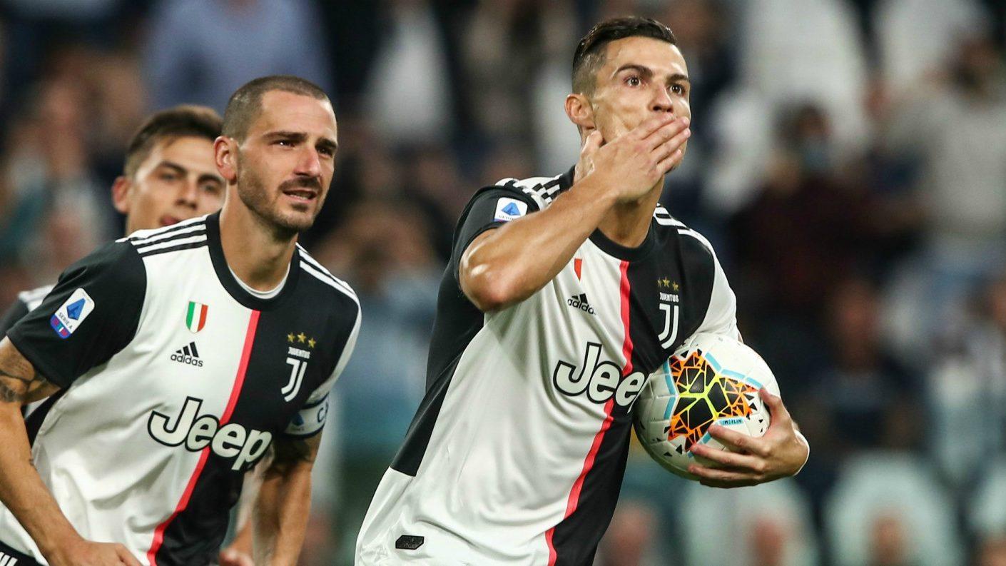 Cristiano Ronaldo se vistió de héroe en la victoria de la Juventus