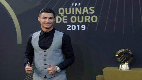 Cristiano Ronaldo, elegido mejor jugador del año en Portugal