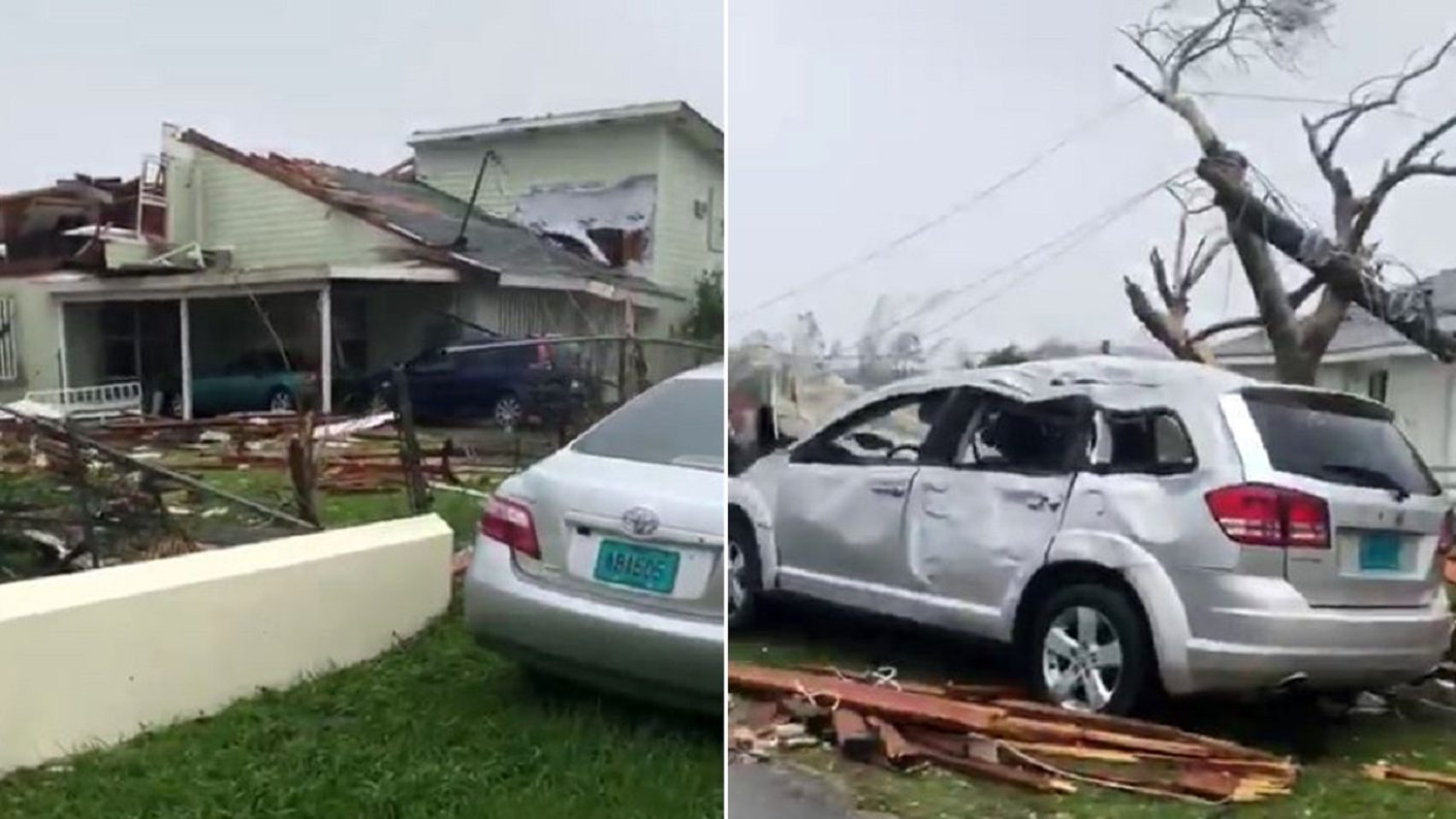 Unas 13.000 casas afectadas por el «monstruoso» Dorian