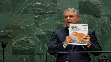 Medio colombiano asegura que fotos enviadas a la ONU por Iván Duque son falsas