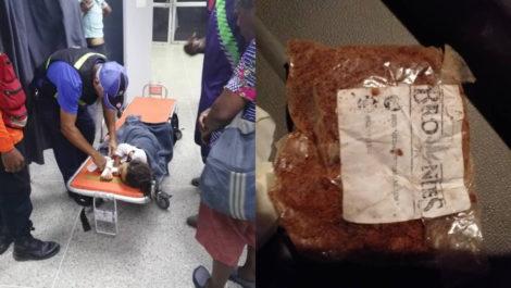 Una docena de niños se intoxicaron luego de comer un brownie encontrado en La Bonanza