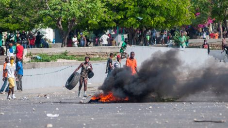 Protestas en contra del presidente Jovenel Moise generan caos en Haití