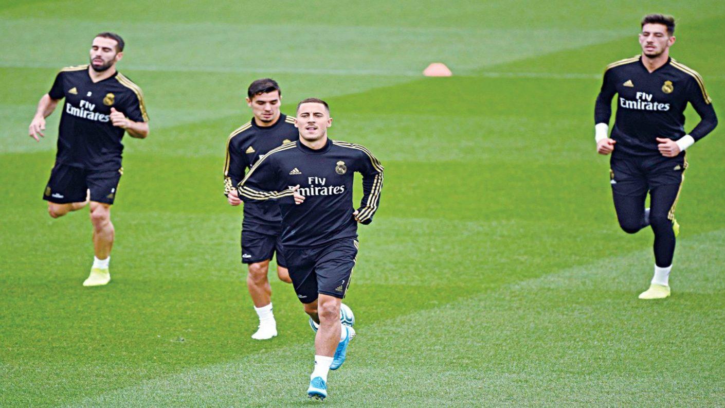 Eden Hazard entró en la convocatoria del Madrid