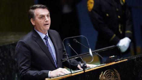 Bolsonaro abre debate en la ONU con fuerte discurso contra Venezuela