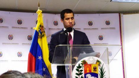 Guaidó presentará al  TIAR pruebas que vinculan al régimen con el terrorismo