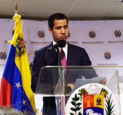 Guaidó propuso crear un Gobierno de Emergencia para atender pandemia