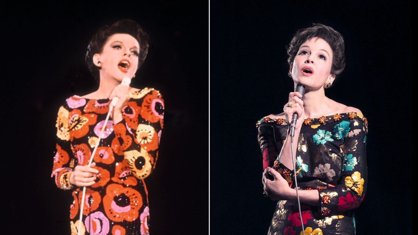 Renée Zellweger obtiene buenas críticas al interpretar a Judy Garland