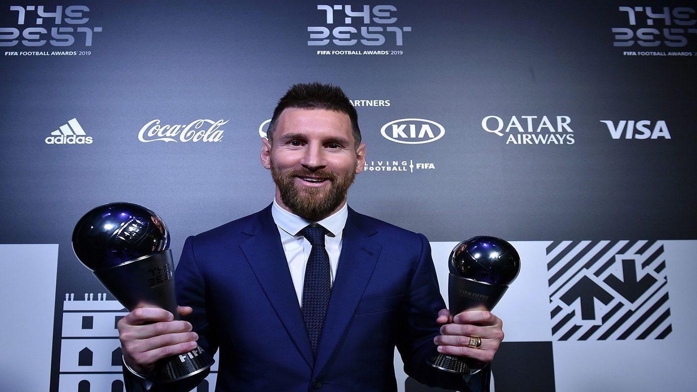 Messi se consagró como el mejor jugador en los premios 'The Best'