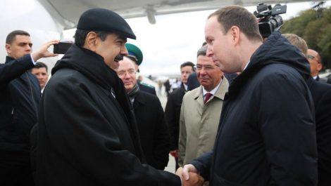 Maduro llegó a Rusia en víspera de la Asamblea General de la ONU