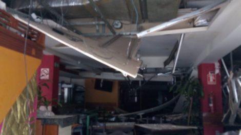 Dos lesionados tras explosión en restaurante «Mi Cochinito Favorito»