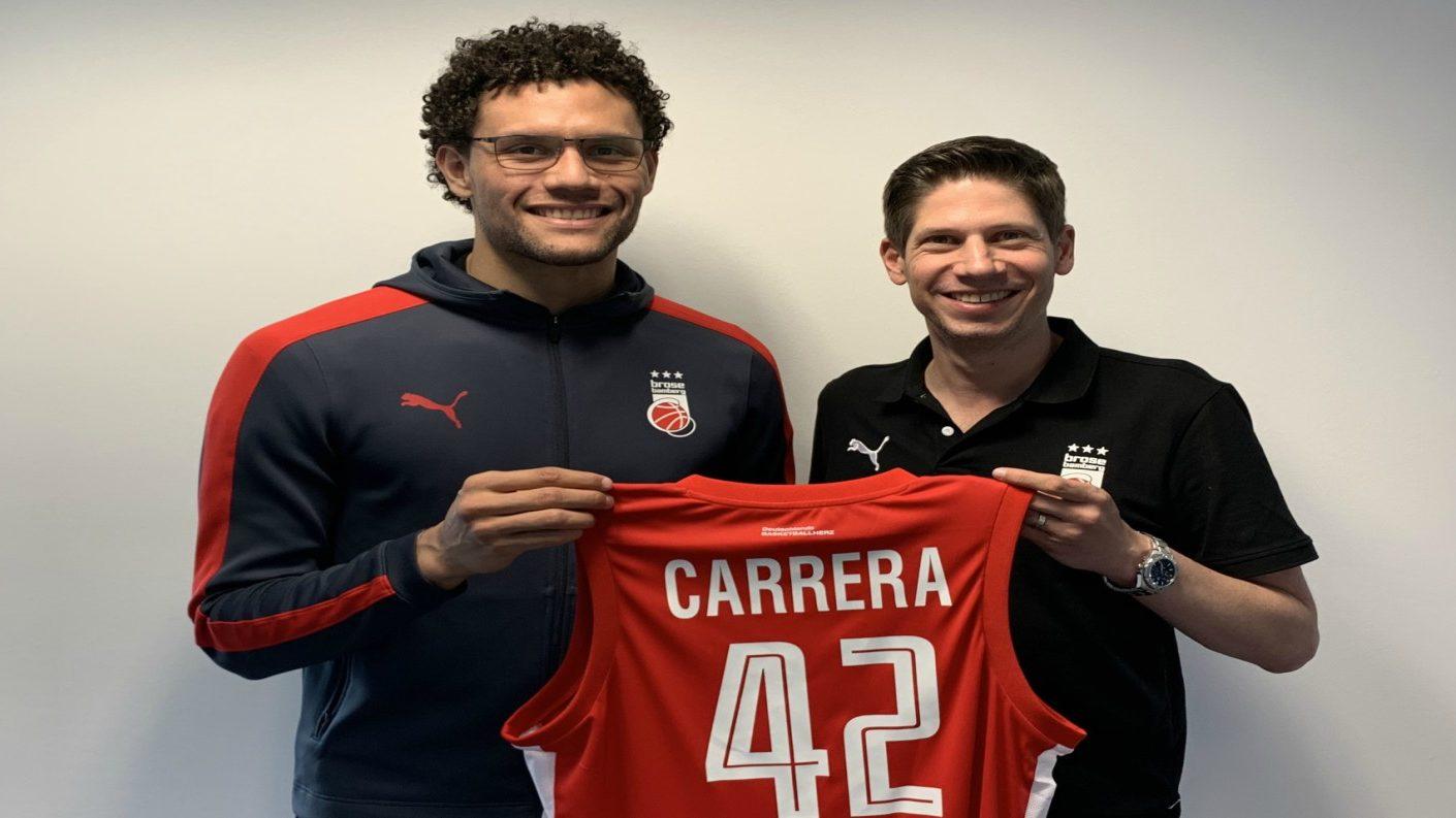 Michael Carrera regresa al Brose Bamberg de Alemania