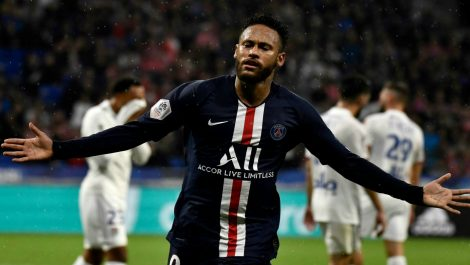 Neymar Jr. otra vez la figura del PSG
