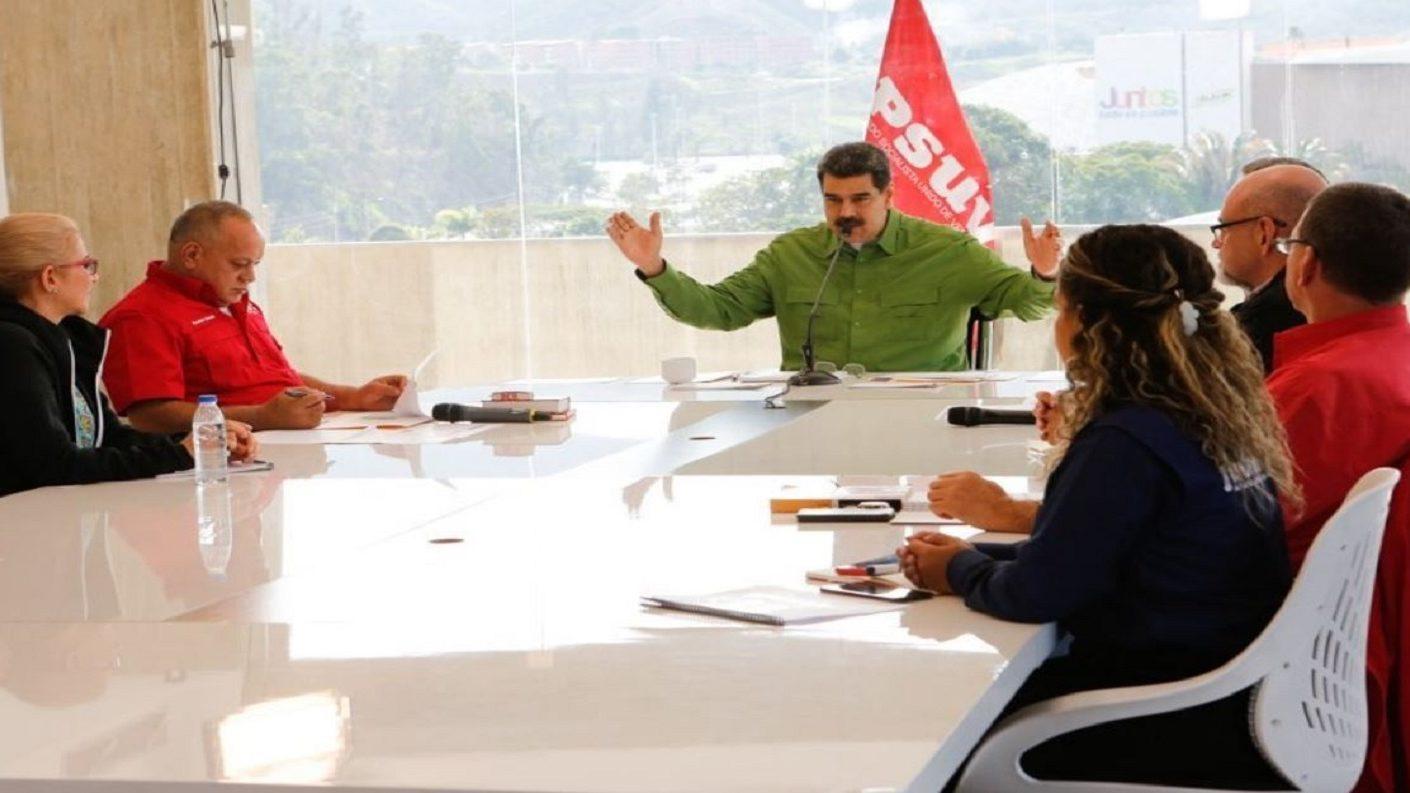 Maduro sobre Guaidó y Los Rastrojos: «Señoras decentes de la oposición han sido defraudadas»