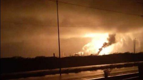 Nuevo incendio en refinería de Amuay