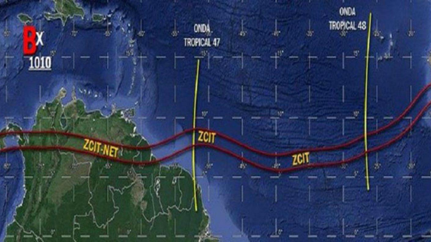 """Activan """"alerta temprana"""" en el país por paso de onda tropical número 47"""